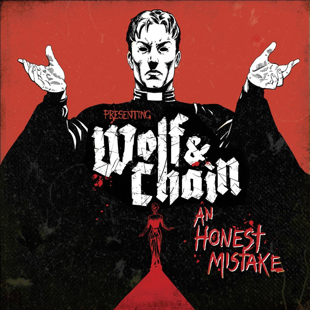 wolf and chain